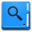 Places Folder Saved Search Icon 64x64 png