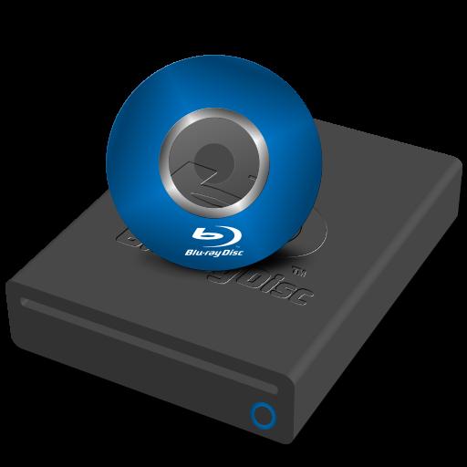 Blu-ray Drive Mini Icon 512x512 png