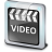 File Video Clip Icon