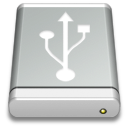 Drive Gray USB Icon