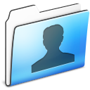 Users Folder Smooth Icon 128x128 png