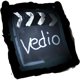 File Video Clip Icon - Colorful Paint Icons - SoftIcons.com