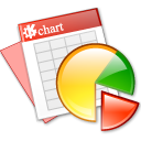 Apps KChart Icon