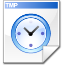 Filesystems File Temporary Icon 128x128 png