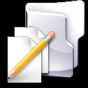 Filesystems Folder TXT Icon
