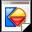 Mimetypes Kivio FLW Icon 32x32 png