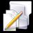 Filesystems Folder TXT Icon 48x48 png