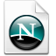 Mimetypes Netscape Doc Icon 64x64 png