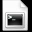 Mimetypes Shellscript Icon 64x64 png