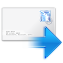 Actions Mail Forward Icon 128x128 png