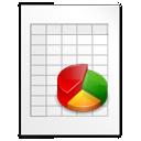 Mimetypes KChart CHRT Icon