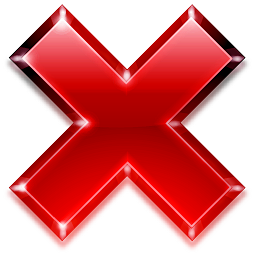 Actions Button Cancel Icon 256x256 png