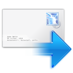 Actions Mail Forward Icon 256x256 png