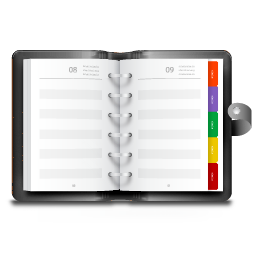 Apps KAddressBook Icon 256x256 png