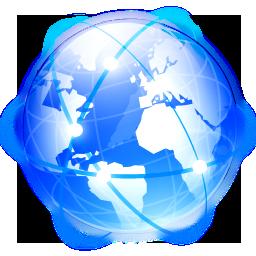 Filesystems Globe Icon 256x256 png