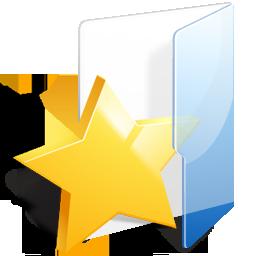 Filesystems Folder Favorites Icon 256x256 png