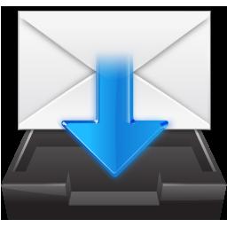 Filesystems Folder Inbox Icon 256x256 png