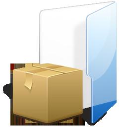 Filesystems Folder TAR Icon 256x256 png