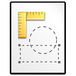 Mimetypes Kivio FLW Icon 256x256 png