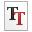Mimetypes Font Truetype Icon 32x32 png