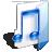 Filesystems Folder Music Icon