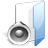 Filesystems Folder Sound Icon