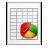 Mimetypes KChart CHRT Icon 48x48 png