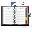 Apps KAddressBook Icon 64x64 png