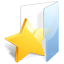 Filesystems Folder Favorites Icon 64x64 png