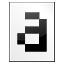 Mimetypes Font Bitmap Icon 64x64 png