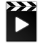 Mimetypes Video Icon 64x64 png