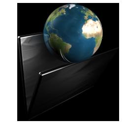 Folder My Network Icon Dark Light Suite Icons Softicons Com