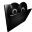 Folder My Music Icon 32x32 png