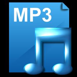 File Mp3 Icon Deepsea Blue Icons Softicons Com