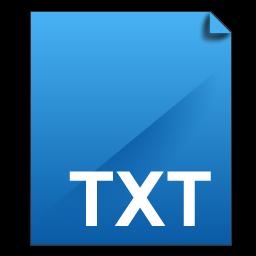 .txt File TXT Icon - DeepSea Blue Icons - SoftIcons.com