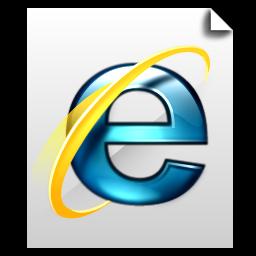 Internet Document Icon Deepsea Blue Icons Softicons Com