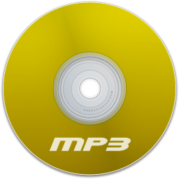 Mp3 Yellow Icon 256x256 png
