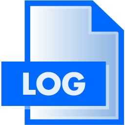 Log File Extension Icon File Extension Icons Softicons Com