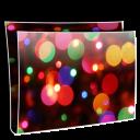 Folder Simple Balls Icon