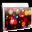 Folder Files Balls Icon 32x32 png