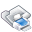 Filesystems Folder Print Icon 32x32 png