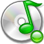 Devices Audio CD Mount Icon 64x64 png
