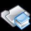 Filesystems Folder Man Icon 64x64 png
