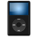 iPod Black Icon 128x128 png