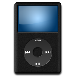 iPod Black Icon 256x256 png