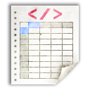 Mimetypes Application Vnd.sun.xml.calc Icon