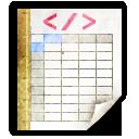 Mimetypes Application Vnd.sun.xml.calc.template Icon