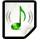 Mimetypes Audio MP3 Icon