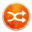 Stock Media Playlist Shuffle Icon 32x32 png