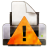 Actions GTK Print Warning Icon